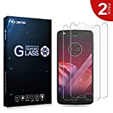 RIFFUE Moto Z2 Play Panzerglas Schutzfolie, Qualitäts Kristallklares 9H Gehärtetes Glas 3D Touch Kompatibler Screen Protector Tempered Glass Folie Film für Motorola Z2 Play (5,5 Zoll) [2 Stück]