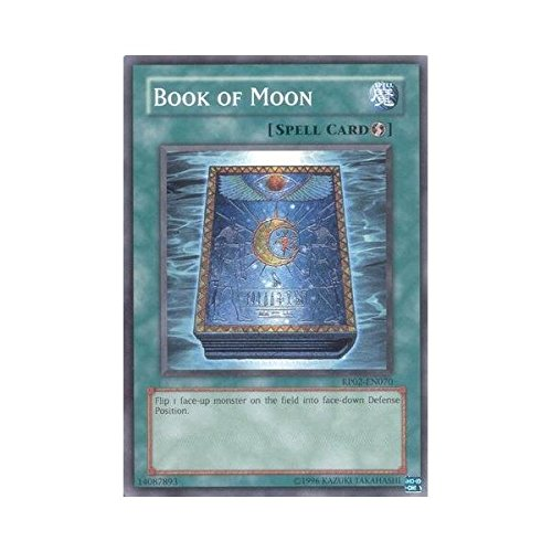 YU-GI-OH! - Book of Moon (RP02-EN070) - Retro Pack 2 - Unlimited Edition - Common