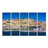 art up your life Bild Bilder auf Leinwand Cagliari