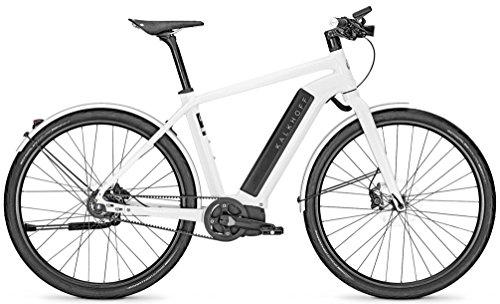 Kalkhoff Integrale 8 LTD White Trekking eBike 2016 - Bicicleta eléctrica para...