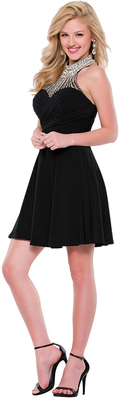 JVN by Jovani Womens Embellished Sleeveless SemiFormal Dress