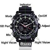 Flylink® 16GB Uhr-Kamera Digital...