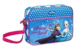Disney Frozen - Die Eiskönigin Elsa Anna Schultertasche Messenger (S137), blau, 38 x 28 x 10 cm