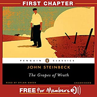 The Grapes of Wrath: First Chapter audiobook cover art