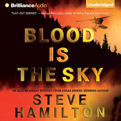 Blood Is the Sky audiobook cover art