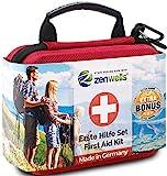 Zenwells Botiquín de Primeros Auxilios - First Aid Kit de Emergencia para Viajes, Coche, Camping,...