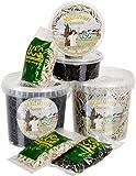 USG Mähnengummi, schwarz, 100 gr Box