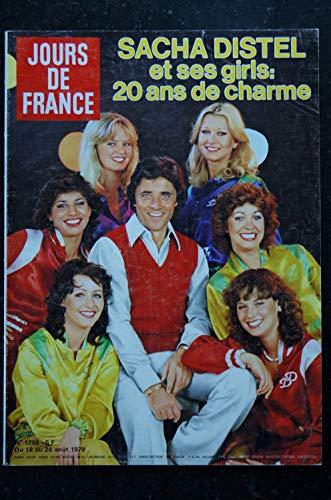 JOURS DE FRANCE 1288 1979 08 SACHA DISTEL et ses GIRLS Ludmila TCHERINA