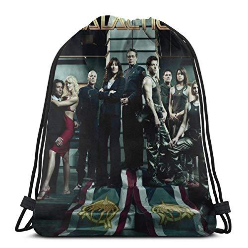 Elegante mochila escolar universitaria, mochila para mujeres, niñas, negocios, viajes, arte, Battlestar Galactica, bolsa de gimnasio