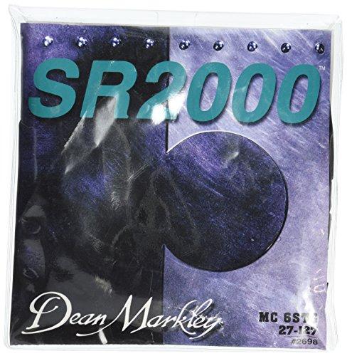 Dean Markley DM2698 Sr2000 Cuerdas para bajo, tamaño 27-127