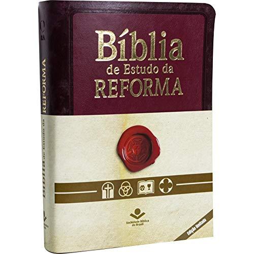 Bíblia de Estudo da Reforma com índice - Edição Limitada: Almeida Revista e Atualizada (ARA) - Com Índice