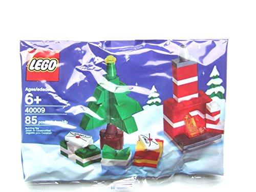 LEGO Weihnachts-Set 40009 Weihnachtsbaum und Kamin