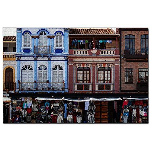 Ecuador Cuenca City Jigsaw Puzzle 1000 Piece Travel Souvenir Wooden