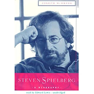 Steven Spielberg audiobook cover art