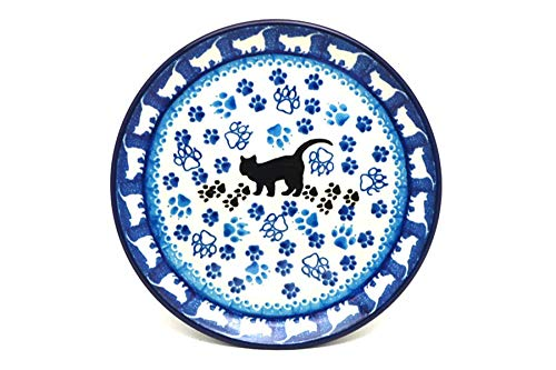 Polish Pottery Plate - Bread & Butter (6 1/4') - Boo Boo Kitty