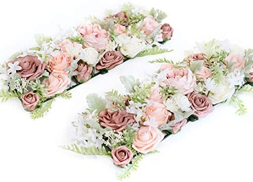 Centros de mesa con flores artificiales _image0
