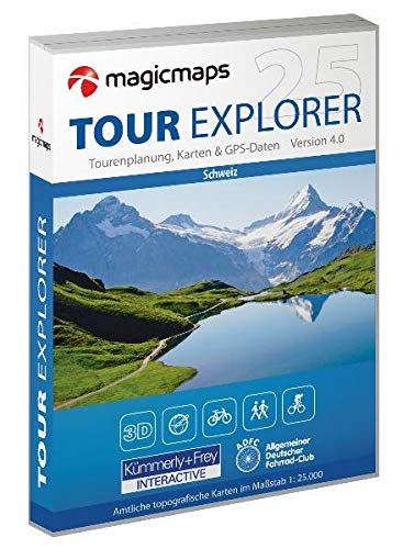 Tour Explorer 25 - Oberengadin V.4 [import allemand]