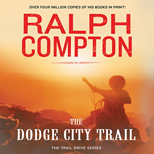 The Dodge City Trail audiobook cover art