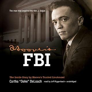 Hoover's FBI audiobook cover art