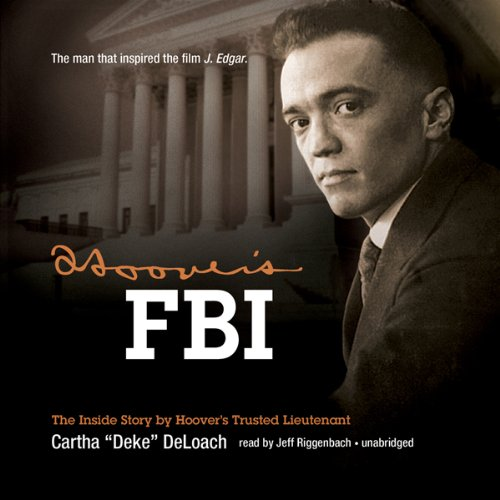Hoover's FBI audiobook cover art