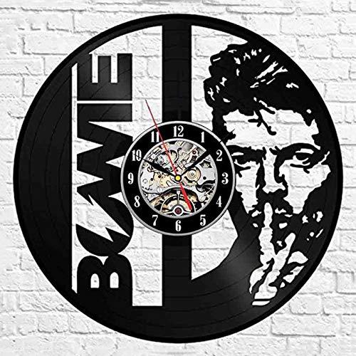 qweqweq 3D wall clock modern design music retro vinyl record clock wall clock home decoration