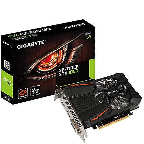 Gigabyte GV-N1050OC-2GD VGA-Grafikkarte D5-2GD Schwarz