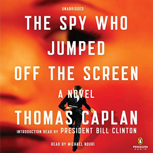 The Spy Who Jumped Off the Screen audiobook cover art