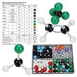 Kits de ciencia Juguetes, 179 piezas Molecular Organic Inorganic Structure Kit Atom Link Model Set for Student Teacher Long Life Life