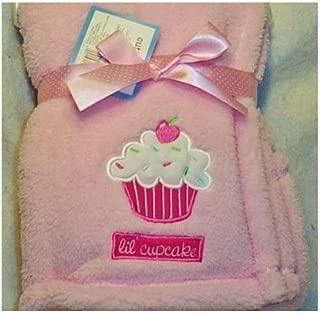 Lil Cupcake Baby Blanket (Pink)