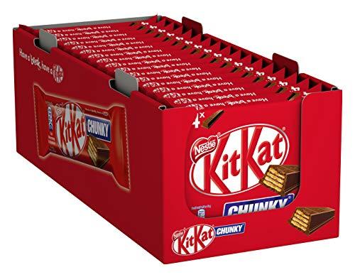 Nestlé KitKat ChunKy Schokoriegel Milchschokolade, Multipack, 20er Pack (à 4 x 40g)
