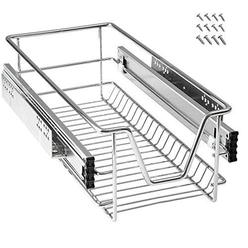 Mctech - Cajón de cocina telescópico, armario extraíble de dormitorio, 30 cm