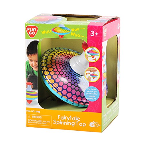 For Sale! PlayGo Fairytale Spinning Top (Colors and Designs May Vary) Baby Toy