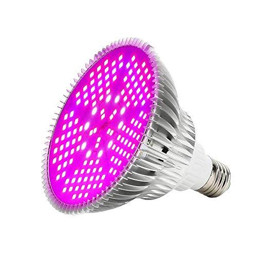 Imagen del productoROCCY LED Cultivo 100w Lampara Cultivo Talla Grande,Focos CultivoLuces LED Grow con La luz UV del IR para Armario Cultivo Interior