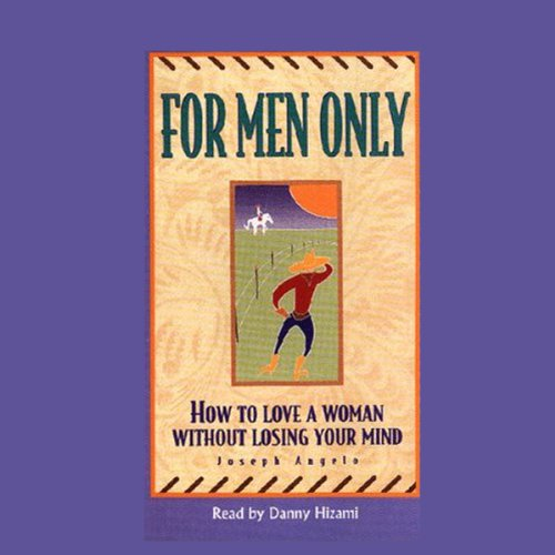 For Men Only audiobook cover art