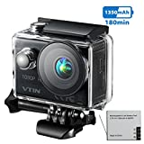 Victsing VTIN Action Sport-Kamera, VTIN Full HD 1080P 2,0 Zoll Action Cam 170 Ultra-Weitwinkel...