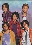 クリアファイル ★ 嵐 「ARASHI Marks2008 Dream-A-live」