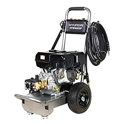 Hyundai HYW4000P Petrol Pressure Washer Portable 420CC 14 HP 4-Stroke Engine 4000 Psi from Hyundai