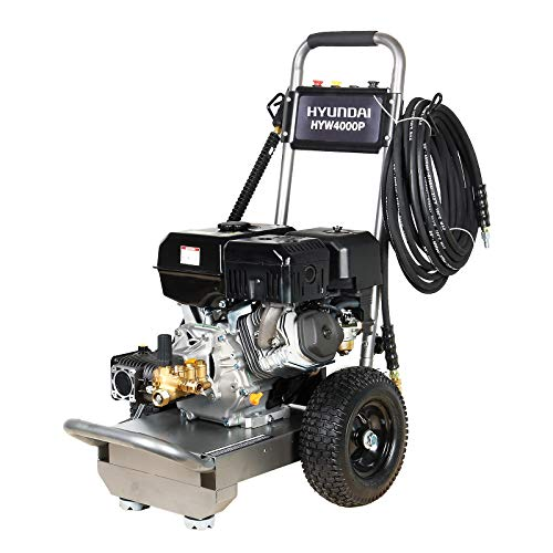 Hyundai HYW4000P Petrol Pressure Washer Portable 420CC 14 HP 4-Stroke Engine 4000 Psi