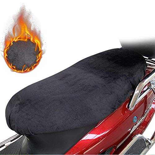 Motorradbezug Leichter Sitzbezug Outdoor Wasserdicht Regen Staub UV Adventure Touring Cruiser Kleid Touring Protector Schwarz L passt für die meisten Sportarten