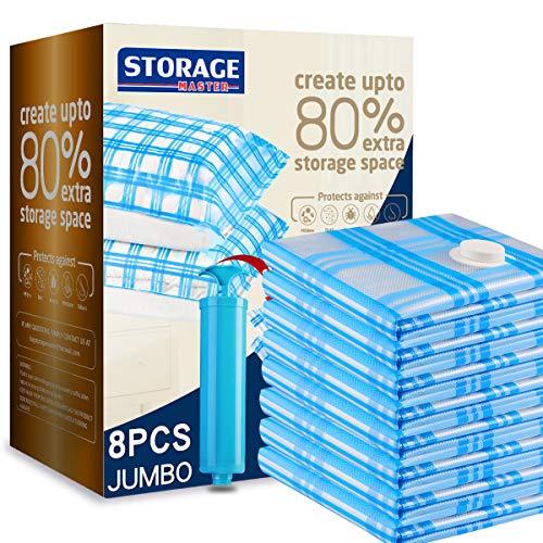 Storage Mater Vacuum Storage Bags, Space Saver Bags