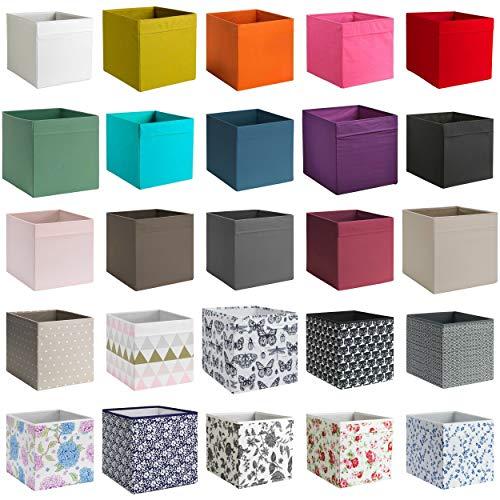 Generisch IKEA Dröna Deckel für Aufbewahrungsbox für Kallax Regale Box Fach Kiste 33x38x33 cm (Deckel Weiß)