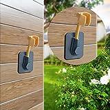 Supporto da parete per doccetta supporto regolabile in altezza supporto universale regolabile per doccia girevole bagno Supporto a ventosa per soffione doccia a 360 gradi di rotazione casa, Verde
