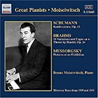 Great Pianists: Moiseiwitsch 1 (2006-08-01)
