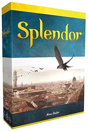Asmodee Splendor, Grundspiel, Familienspiel, Strategiespiel, Deutsch