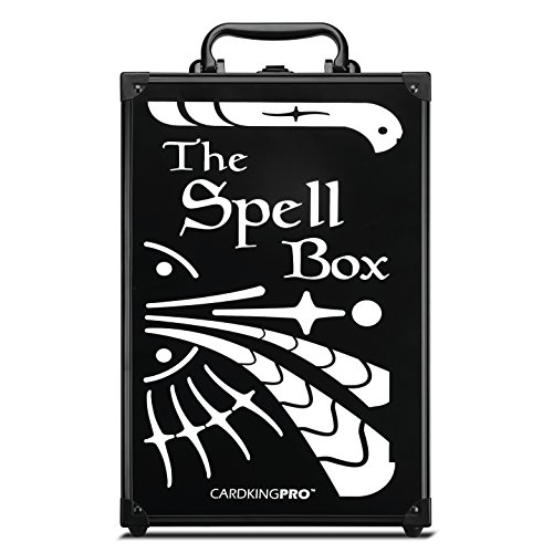 Game Card Storage Case (PRO/MTG Edition)   Suitable for Magic The Gathering, Yugioh, and Other TCG Etc (Game Not Included)   Includes 8 Dividers   Fits up to 2000 Loose Unsleeved Cards image