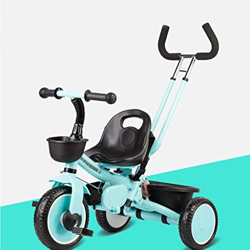 Learn More About SI YU Neonatal Collapsible Outdoor Tricycle Baby Bicycle Lightweight Folding Cart C...