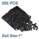 AQUANEAT 500pcs 1' Bio Balls 2 Gal Aquarium Filter Media Pond Canister Filter Media