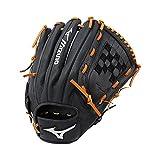 Mizuno Prospect Select Gpsl1200 Youth Utility 312569 Baseball Mitts, Size 12, Black