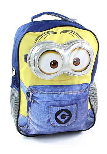 """Minion 16"""" Blue/Yellow Backpack for Kids Standard"""