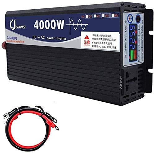 KPL potenza inverter a onda sinusoidale pura 600W-6000W onda sinusoidale pura Inverter cc Alimentatori Inverter DC 12V / 24V / 48V / 60V a 220V AC ad alta efficienza Power Inverter for Smartphone Tabl